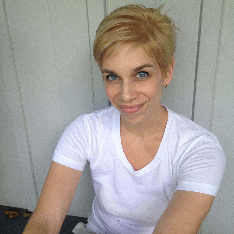 that time i paid someone to dye my hair orange | melissa brobeck