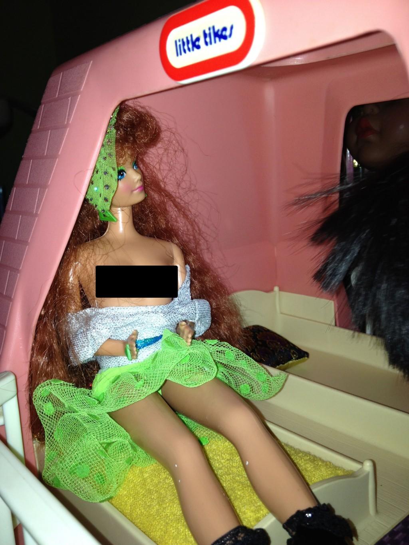 Breast-Pumping Barbie