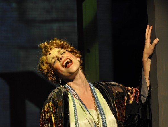 As Miss Hannigan
